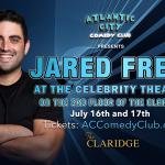 Jared Freid at The Celebrity Theater