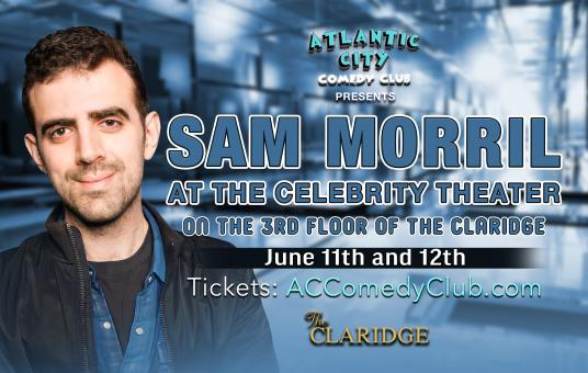 Sam Morril at The Celebrity Theater